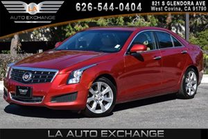 2014 Cadillac ATS Luxury RWD Carfax 1-Owner - No AccidentsDamage Reported 4 Cylinders Air Condi
