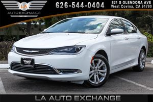 2015 Chrysler 200 Limited Carfax 1-Owner - No AccidentsDamage Reported 2 12V Dc Power Outlets 4