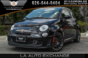 2013 FIAT 500 Abarth Carfax 1-Owner - No AccidentsDamage Reported 4 Cylinders Aluminum Pedal Co