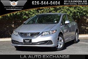 2013 Honda Civic Sdn LX Carfax 1-Owner 4 Cylinders Air Conditioning  AC Audio  AmFm Stereo