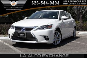 2015 Lexus CT 200h Hybrid Carfax 1-Owner 1 12V Dc Power Outlet 4 Cylinders Audio  Cd Player B