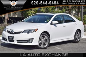 2014 Toyota Camry SE Carfax 1-Owner 4 Cylinders Air Conditioning  AC Audio  AmFm Stereo Cl