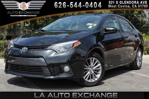 2015 Toyota Corolla LE Carfax 1-Owner 4 Cylinders Air Conditioning  Climate Control Analog Dis