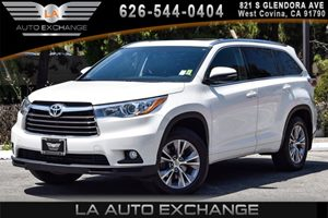 2015 Toyota Highlander XLE Carfax 1-Owner 6 Cylinders Air Conditioning  AC Audio  AmFm Ster