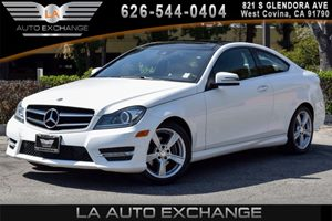 2014 MERCEDES C250 Coupe Carfax 1-Owner - No AccidentsDamage Reported 4 Cylinders Air Condition