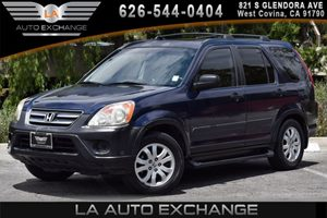 2006 Honda CR-V EX Carfax Report - No AccidentsDamage Reported 4 Cylinders Air Conditioning  A