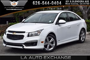 2015 Chevrolet Cruze LT Carfax 1-Owner 4 Cylinders Air Conditioning  AC Audio  AmFm Stereo