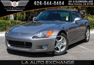 2000 Honda S2000  Carfax Report 4 Cylinders Air Conditioning  AC AmFm Stereo WCd Player-Inc