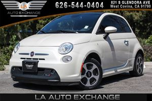 2014 FIAT 500e  Carfax 1-Owner - No AccidentsDamage Reported 0 Cylinders 2 Seatback Storage Poc