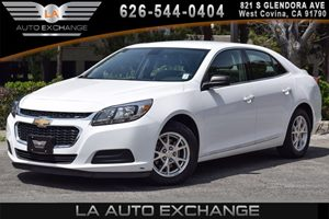 2014 Chevrolet Malibu LS Carfax 1-Owner 4 Cylinders Air Conditioning  AC Audio  AmFm Stereo