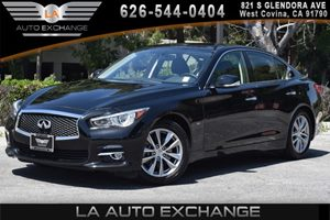 2014 INFINITI Q50  Carfax 1-Owner - No AccidentsDamage Reported 6 Cylinders Air Conditioning
