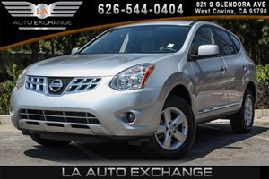 2013 Nissan Rogue S Carfax 1-Owner 2 12-Volt Pwr Outlets 4 Cylinders Air Conditioning  AC