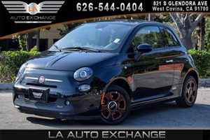 2014 FIAT 500e  Carfax 1-Owner - No AccidentsDamage Reported 0 Cylinders Air Conditioning  AC