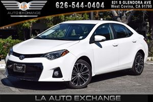 2016 Toyota Corolla S Plus Carfax 1-Owner 4 Cylinders Air Conditioning  AC Audio  AmFm Ster