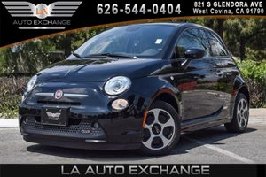 2013 FIAT 500e BATTERY ELECTRIC  Carfax 1-Owner - No AccidentsDamage Reported 0 Cylinders 1855