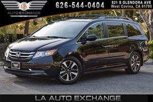 2016 Honda Odyssey EX-L Carfax 1-Owner 6 Cylinders Air Conditioning  AC Air Conditioning  Re