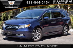 2016 Honda Odyssey Touring Elite Carfax 1-Owner 6 Cylinders Air Conditioning  AC Audio  AmF