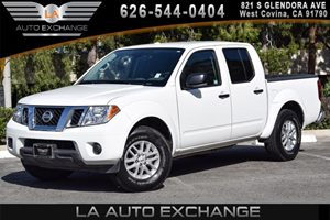2016 Nissan Frontier SV Carfax 1-Owner - No AccidentsDamage Reported 6 Cylinders Air Conditioni