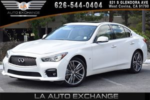 2014 INFINITI Q50 Sport Carfax 1-Owner - No AccidentsDamage Reported 6 Cylinders Air Conditioni