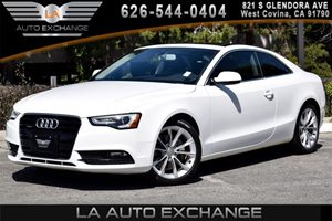 2014 Audi A5 Premium Carfax 1-Owner - No AccidentsDamage Reported 4 Cylinders Air Conditioning