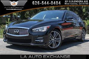 2014 INFINITI Q50 Premium Carfax 1-Owner - No AccidentsDamage Reported 6 Cylinders Analog Displ