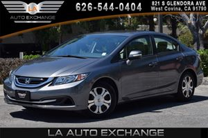 2013 Honda Civic Hybrid  Carfax 1-Owner 4 Cylinders Air Conditioning  AC Audio  AmFm Stereo