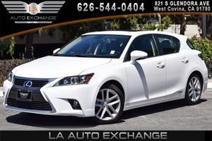 2014 Lexus CT 200h Hybrid Carfax 1-Owner 4 Cylinders Air Conditioning  AC Audio  AmFm Stere