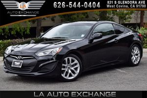 2013 Hyundai Genesis Coupe 20T Carfax 1-Owner - No AccidentsDamage Reported 4 Cylinders Air Co