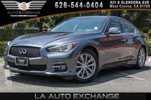 2014 INFINITI Q50 Premium Carfax 1-Owner 6 Cylinders Convenience  Back-Up Camera Convenience