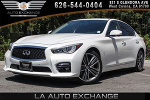 2014 INFINITI Q50 Sport Carfax 1-Owner 6 Cylinders Air Conditioning  Multi-Zone AC Convenienc