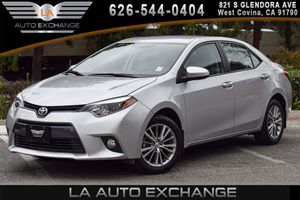 2015 Toyota Corolla LE Plus Carfax 1-Owner 4 Cylinders Air Conditioning  AC Audio  AmFm Ste