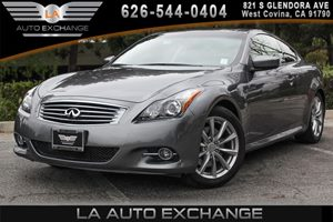 2014 INFINITI Q60 Coupe Journey Carfax 1-Owner - No AccidentsDamage Reported 6 Cylinders Chrome