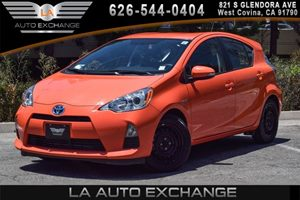 2013 Toyota Prius c Two Carfax Report - No AccidentsDamage Reported 4 Cylinders Air Conditionin