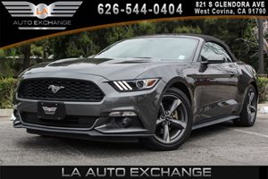 2015 Ford Mustang V6 Carfax 1-Owner 6 Cylinders Black Grille Body-Colored Front Bumper Conveni