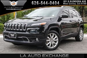 2014 Jeep Cherokee Limited Carfax 1-Owner - No AccidentsDamage Reported 4 Cylinders Air Conditi