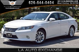 2014 Lexus ES 300h Hybrid Carfax 1-Owner 4 Cylinders Air Conditioning  AC Audio  AmFm Stere