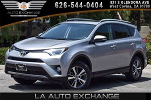 2016 Toyota RAV4 XLE Carfax 1-Owner - No AccidentsDamage Reported 4 Cylinders Air Conditioning