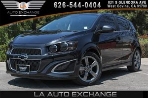 2013 Chevrolet Sonic RS Carfax Report - No AccidentsDamage Reported 4 Cylinders Convenience  A