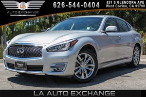 2016 INFINITI Q70  Carfax 1-Owner 6 Cylinders Analog Display Convenience  Back-Up Camera Conv