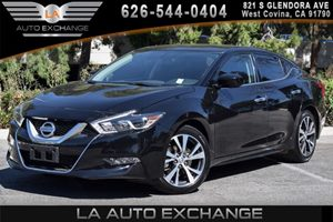 2016 Nissan Maxima 35 S Carfax 1-Owner - No AccidentsDamage Reported 6 Cylinders Air Condition