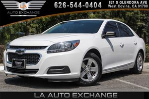 2014 Chevrolet Malibu LS Carfax 1-Owner - No AccidentsDamage Reported 4 Cylinders Convenience