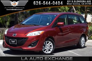 2012 Mazda Mazda5 Sport Carfax 1-Owner - No AccidentsDamage Reported 4 Cylinders Air Conditioni