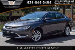 2015 Chrysler 200 Limited Carfax 1-Owner - No AccidentsDamage Reported 4 Cylinders Air Conditio