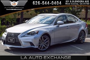 2016 Lexus IS 350 F Sport Carfax 1-Owner - No AccidentsDamage Reported 6 Cylinders Black Grille