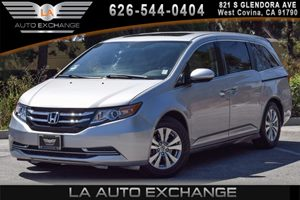 2015 Honda Odyssey EX-L Carfax 1-Owner - No AccidentsDamage Reported 6 Cylinders Air Conditioni
