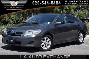 2011 Toyota Camry LE Carfax Report 4 Cylinders Air Conditioning  AC Audio  AmFm Stereo Aud