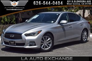 2015 INFINITI Q50 Premium Carfax 1-Owner - No AccidentsDamage Reported 6 Cylinders Audio  AmF