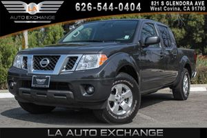 2013 Nissan Frontier SV Carfax 1-Owner 4 Full-Size Doors 6 Cylinders Air Conditioning  AC