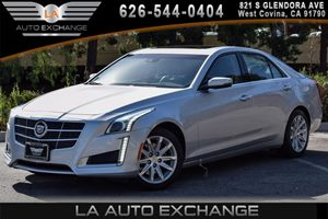 2014 Cadillac CTS Sedan Luxury AWD Carfax 1-Owner 4 Cylinders Air Conditioning  AC Audio  Am
