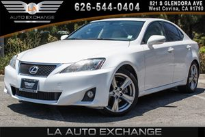 2012 Lexus IS 250  Carfax Report - No AccidentsDamage Reported 6 Cylinders Convenience  Adjust